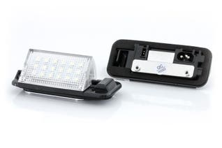 Canlamp LED rekisterikilven valot (BMW E36)